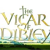 Logo design for Vicar of Dibley Television series.