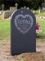 view decorative Headstones