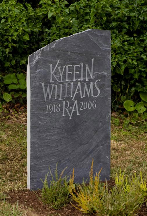 Natural Stone Headstones : Naturally shaped headstones by artist craftsman ieuan rees