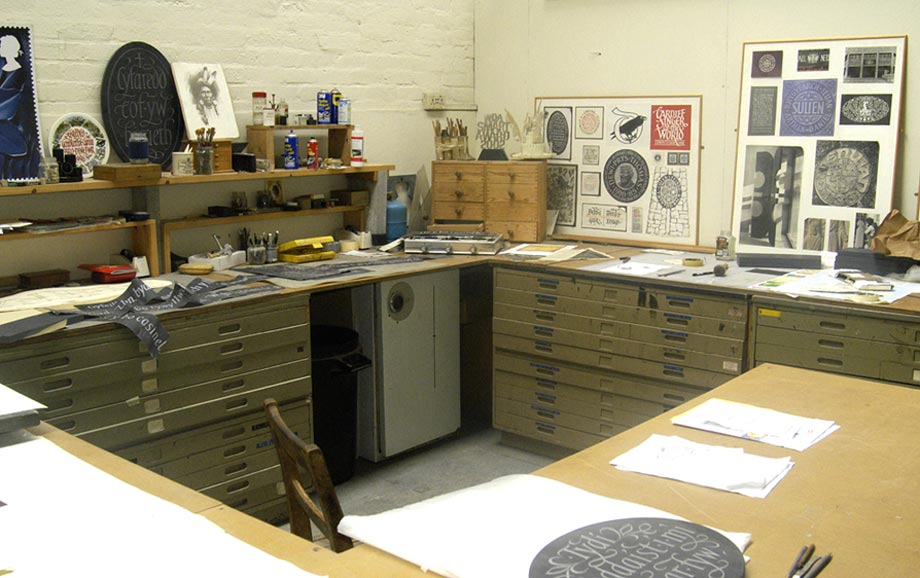 Image of Ieuan's Studio in Ammanford.